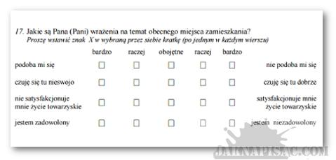 Ankieta - dyferencjał semantyczny