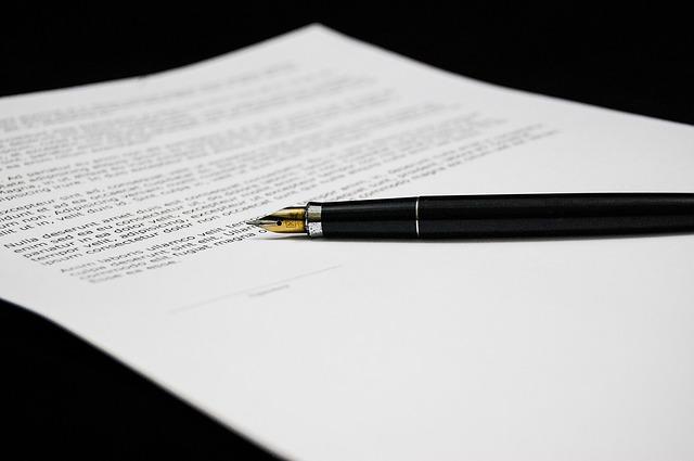 Jak napisać kontrakt menedżerski?