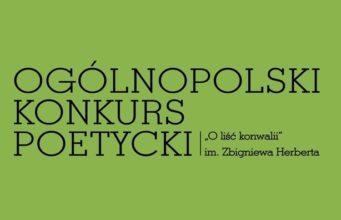 """XXX Ogólnopolski Konkurs Poetycki """"O liść konwalii"""" 2016"""