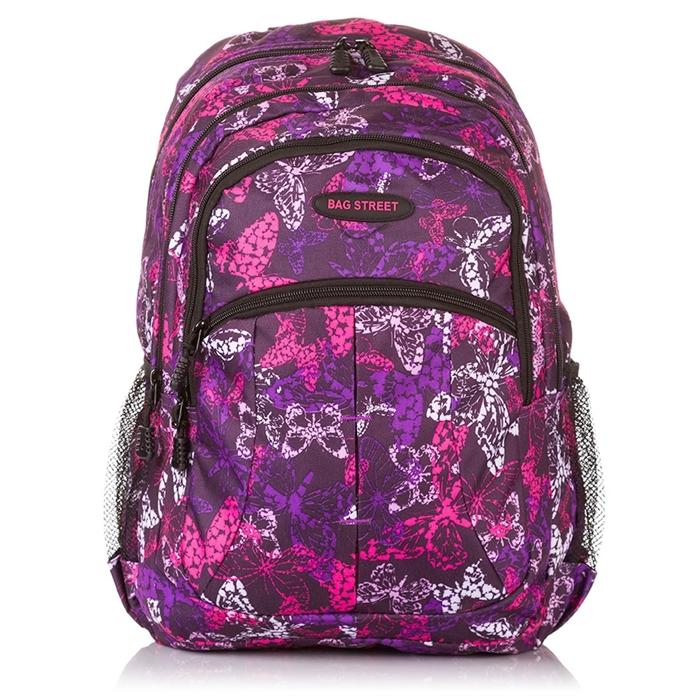 Plecak szkolny dla dziewczyny butterfly