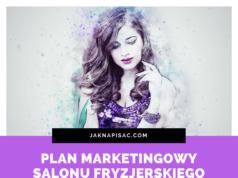 """Plan marketingowy salonu fryzjerskiego """"Pefredo"""""""
