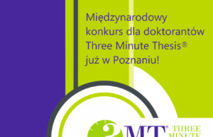 Konkurs Three Minute Thesis