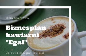 """Biznesplan kawiarni """"Egal"""""""