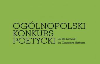 """Ogólnopolski Konkurs Poetycki """"O liść konwalii"""" im. Zbigniewa Herberta"""